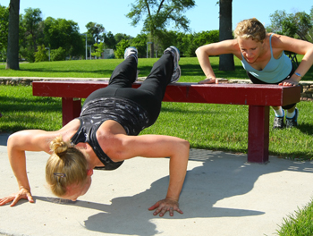 bootcamp pushups